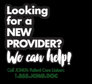 JCMG New Provider