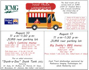 Food Truck Fundraisers With Menu Items