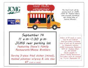 JCMG Food Truck Fundraiser