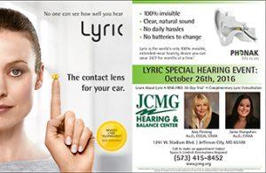 JCMG Lyric hearing event