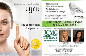 Special Hearing Event - Oct. 26th